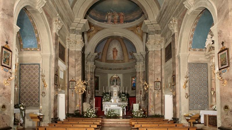 Restauro della chiesa Parrocchiale di S. Clemente Alcenago