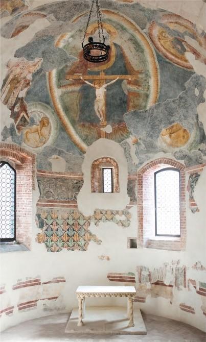 Ripristino accesso originario dell'antica Cappella delle Benedettine della Parrocchia di S.Michele Arcangelo